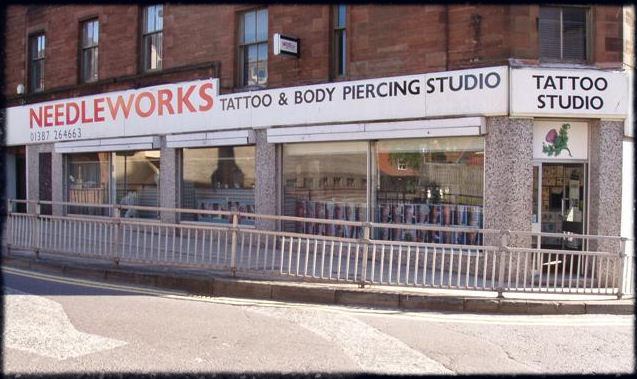 Needleworks Tattoo & Body Piercing  Studio